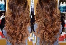 Haarfarben karamell