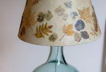 lampadaire décoré