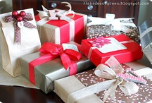gift wrapping  / by Daniela Petrone Pecoraro