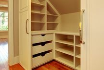 Attic Bedroom Closets