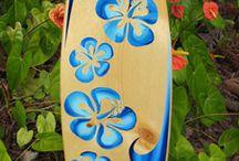 Pranchas de Surf.