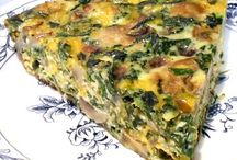 Quiches - Casseroles - Bakes / Quiche's and bakes / by Nicole Spataro