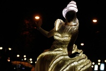 LED clothes design  / How you can use LED light for fashion. interesting ideas of LED application.