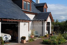 Bygone Drives Self Catering in Aviemore Scotland / A luxury 4 bed spacious home from home by far the best equipped holiday home at an affordable price hot tub, log fire, jacuzzi bath, steam shower bath robes slippers even a spare toothbrush! Dogs welcome
