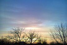 Naplementék, napkelték és felhők. / Naplementék, napkelték és felhők.