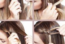 An der kopfhaut flechten / Du musst 3 strähnen an der seite deines kopfes nehmen und flechtest ganz normal.Zu der mittleren strähne nimmst du vom kopf ein stück vom haar.