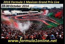 F1 Mexican Grand Prix Live / Live Here: http://www.formula1online.net/ Race: Mexico F1 Grand Prix 2016 Date:  28-30 October 2016