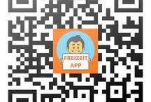 QR-Code zur FREIZEIT App / Hier geht es über den QR-Code zur FREIZEIT App...