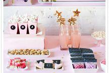 Event ideas / Ideas for party, table arrangements, foods & decorations