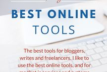 Best online tools / As a freelance webdesigner, Shopify Expert and with a lot of years working online, I'm very picky on tools and systems I use. I'm pinning my best tips and links to what I use here.