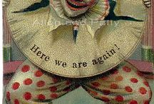 Poetic cirkus and clowns