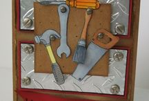 Masculine Cards / Cards / by Laurie MacTavish