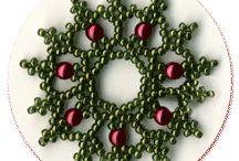 Beaded Christmas Ornaments