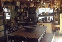 primitive room designs / by Rosemary Kircher