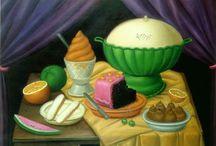 Comer 7 : Comida y pintura
