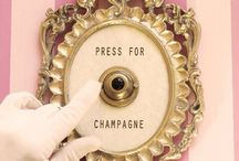 "[ Press for champagne ] /  ""I only drink champagne on two occasions ... when I am in love, and when I am not."" ~ Coco Chanel"