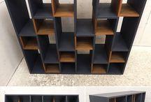 家具DIY参考デザイン / サイズ横118センチ奥行き35センチ高さ102センチ