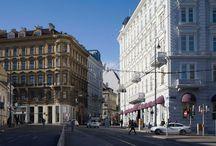 Sans Souci Hotel, Vienna, Austria / Sans Souci, Vienna - Architecture and Interior Design by Julie Humphryes & David Archer of Archer Humphryes Architects