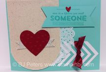 BJ's Stampin Up! Creations  / Cards and projects made by BJ Peters, Stampin Up!  Demonstrator.