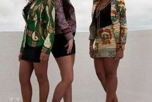 AFRO COUTURE / african fabrics used in modern styling #afrocentric