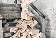 papírové oblečky
