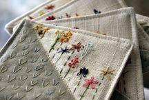 šití a vyšívání