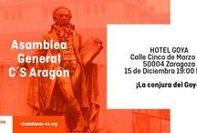 Convocatorias / Ciudadanos Aragón realiza actividades inherentes a la propia organización del Partido.
