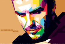 Art - WPAP Portraits