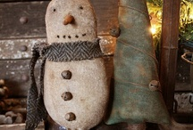 Santos and snowmen