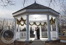The Gazebo Wedding Ceremony Venue / The Gazebo in front of the Inn