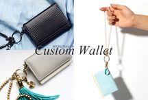 custom wallet set / 単体で購入するより10%ほどお得に購入できるカスタムセット!