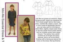 Kid's wear from HotPatterns...Mini-Me Essential / ...check out our new and fab kid's version of one of our bestselling grown-up styles!