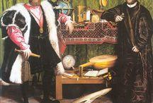 Hans Holbein el Jove / Em fascina la mirada del mercader Gisze