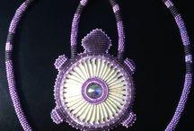 Wampum beads