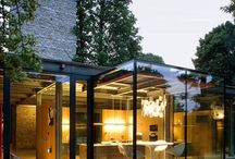 Architectural glass boxes