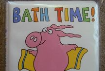 Waterproof and Cloth Board Books / Great books for babies in the tub or on the go!