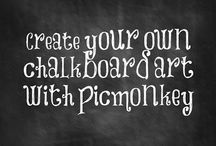 Chalkboard / by Stephanie Barsness