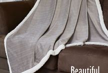 Vegan Blankets / Faux fur, faux leather, and faux wool blankets for all your vegan needs. :)