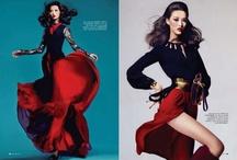 Red/Valentine's Fashion Editorial