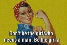 Only girls / Girl Power
