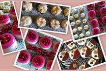 Die Kleine Patisserie Welt / Verschiedene feine, süße Köstlichkeiten: Dessert- und Kaffeespezialitäten