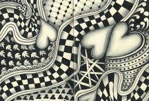 Doodles, drawings & Zentangles / by Denita Wishart ☯☮ॐ
