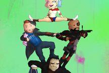 Suicide Squad / Suicide Squad fanarts