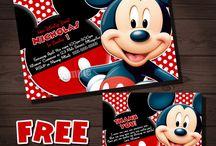 Cumpleaños de mickey mouse