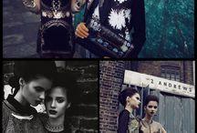 Twin fashion photography