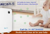 Air Purifier for Home | Best Air Purifier for Indoor | Buy Room Air Purifier / Klairon A5 fully optimize the air passage, further clean the air flow, and achieve indoor air purification cycle in a faster manner. Wider and bigger back air in-taking design fully takes in the air faster and smoother.