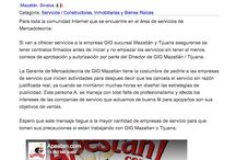 Cuidado con Gig Desarrolladores de Coto Bahia y La Rioja Tijuana
