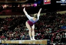 College gymnastics gif