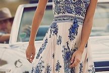 Gypsy summer dress