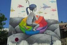 grafiti, street art